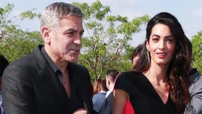George Clooney bromea con su matrimonio