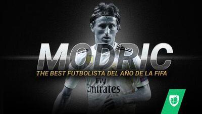 Luka Modric gana el premio 'The Best', el 'Balón de Oro' de la FIFA