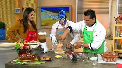 La receta de Torta de camarón con nopales