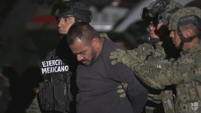 """Autoridades mexicanas presentaron al """"Cholo"""" Iván"""