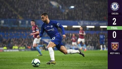 Chicharito, invisible ante un Chelsea comandado por Hazard y su guiño merengue