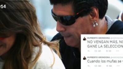 """Maradona respondió a Grondona: """"Pobre estúpido"""""""