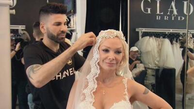 ¿Qué hace Marisela vestida de novia?: Jomari Goyso se convirtió en el cómplice perfecto de la cantante