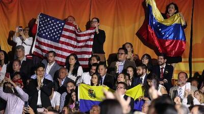 Discurso de Trump sobre Venezuela desata protestas a favor y en contra en Miami