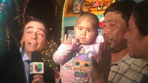 Niños con cáncer disfrutan de una noche mágica en el Bosque Encantado de Santa