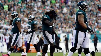 Jay Ajayi de Philadelphia Eagles se pierde la temporada por una lesión grave