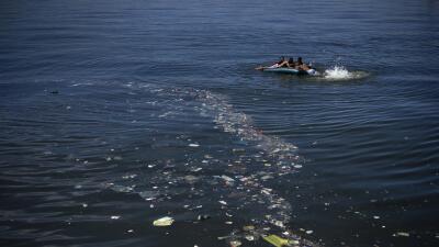 La contaminación de las aguas en Río, una pesadilla para los atletas