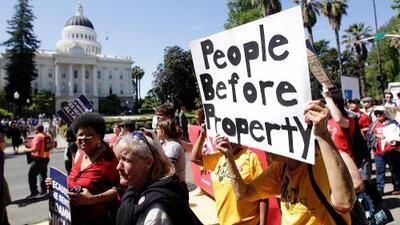 El límite de 5% en los aumentos anuales de renta en California está a un paso de convertirse en ley