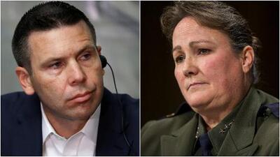 El secretario interino de DHS y la jefa de la Patrulla Fronteriza, bajo la lupa por dos escándalos migratorios