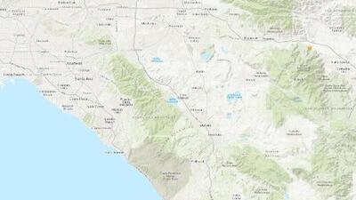 Temblor de magnitud 2.5 se registró en Ridgecrest horas después de uno de 3.3 en Palm Springs