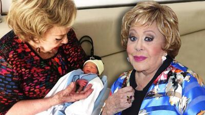 "Silvia Pinal ""esta vuelta loca"" con su nieto Apolo (que no tiene una madre, sino 3)"