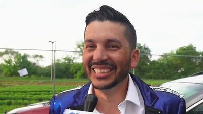 Con risa nerviosa, Luis Ángel deja en suspenso la fecha oficial para su salida de Los Recoditos