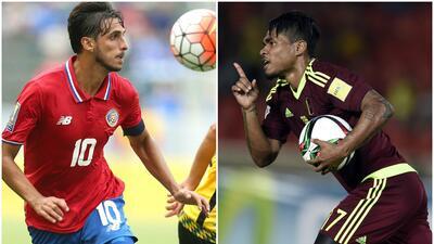 Venezuela y Costa Rica jugarán partido amistoso en febrero