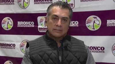 """'El Bronco' propone cambiar la constitución mexicana para poder """"mocharle las manos"""" a los corruptos"""