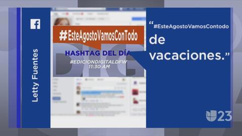 #EsteAgostoVamosConTodo y otras tendencias en la red