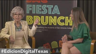Rita Moreno invita a la comunidad de San Antonio a una plática con ella