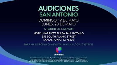 Univision San Antonio busca a nuevos talentos
