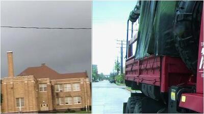 La tormenta tropical Imelda azota Texas con fuertes lluvias
