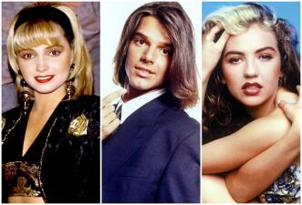 Así era la moda de las telenovelas en la década de los 90