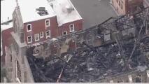 Familia dominicana se queda sin hogar luego de incendio en iglesia St. Leo