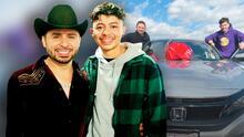 Larry Hernández le regaló una camioneta a su hijo en su cumpleaños 18