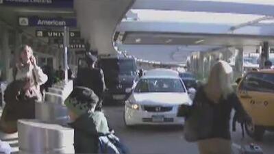 Advierten sobre caos vehicular en el aeropuerto LaGuardia por cambios del patrón de circulación