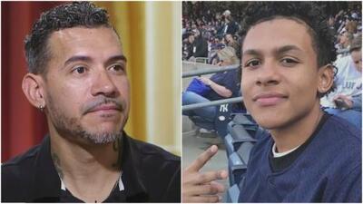 """""""Que me perdone si fallé"""": padre de Lesandro Guzmán recuerda a su hijo cuando se cumple un año de su asesinato"""