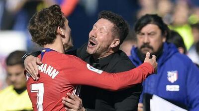 Simeone confía en que Griezmann no dejará al Atlético de Madrid para irse al Barcelona