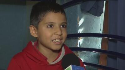 Hace un año, el público le cumplió un sueño a este niño y ahora él ha logrado vencer el cáncer