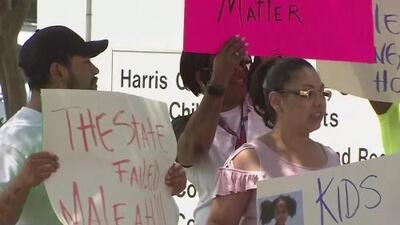 """""""CPS pudo hacer más para salvar a esta niña"""": varias personas protestan por la desaparición de Maleah Davis"""