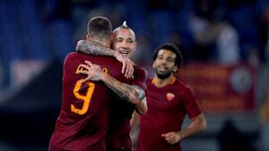 La Roma goleó al Palermo y está dos puntos del liderato