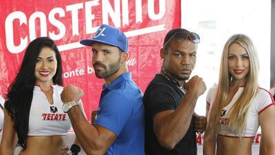 Ramón 'Inocente' Álvarez y Richard Gutiérrez prometieron gran pelea por 'Solo Boxeo'