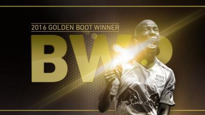 Bradley Wright-Phillips le ganó la batalla a David Villa y se quedó con el Botín de Oro de la MLS 2016