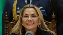 Nueva crisis en Bolivia por la decisión de Jeanine Añez de ser candidata a las elecciones