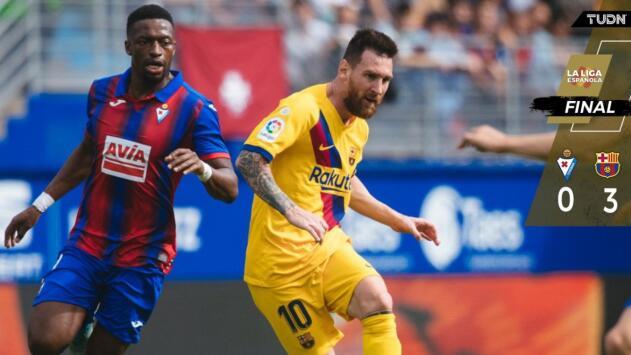¿Ya despertó el Barcelona? Nueva goleada catalana