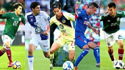 Estos serían los posibles jóvenes talentos convocados por Ricardo Ferretti al Tri