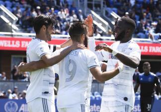 En fotos: Carlos Vela brilla en goleada del LAFC a los San Jose Earthquakes de Matías Almeyda
