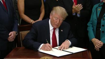 El presidente Trump impone nuevas sanciones a Irán