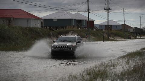 Alabama y Mississippi mantienen alerta ante posibles inundaciones por la tormenta Gordon