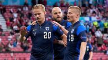 Dinamarca cae por la mínima frente a Finlandia