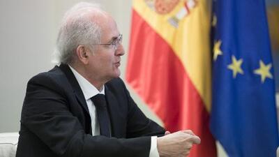 """""""Estoy optimista y no es sin fundamentos"""": El exalcalde Ledezma celebra a la distancia lo que pasa en Venezuela"""