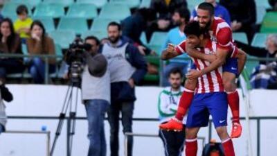 Betis 0-2 Atlético de Madrid: El Atlético cumple y deja al Betis con un pie en Segunda