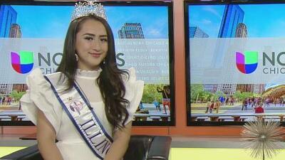 Miss Teen Mundial Illinois, un concurso que ayuda a construir la autoestima de las jóvenes