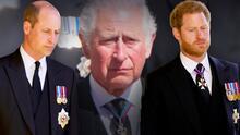 El príncipe Carlos se reunió por 2 horas con sus hijos William y Harry tras el funeral de su padre Philip