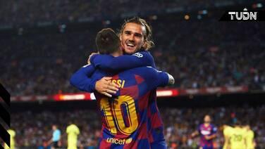 Datos demuestran pobre conexión entre Griezmann y Messi