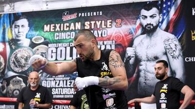 Martirosyan cree que 'Canelo' dio positivo para evitar pelea con 'GGG'