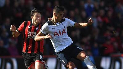 Tottenham no pasa del empate ante el Bournemouth