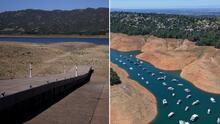 Estas fotos muestran el empeoramiento de la sequía en California