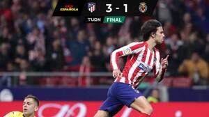 Atlético de Madrid vence 3-1 a Villarreal y aprieta la tabla