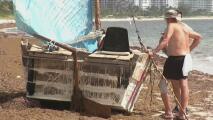 Lo que se sabe de los balseros cubanos que llegaron en una embarcación rústica a Key Biscayne en Memorial Day